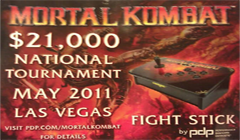 Видео с PDP National Tournament по Mortal Kombat 9