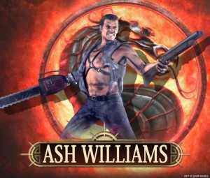 Ash Williams для Mortal Kombat