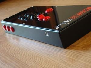 HitBOX Black Side Front
