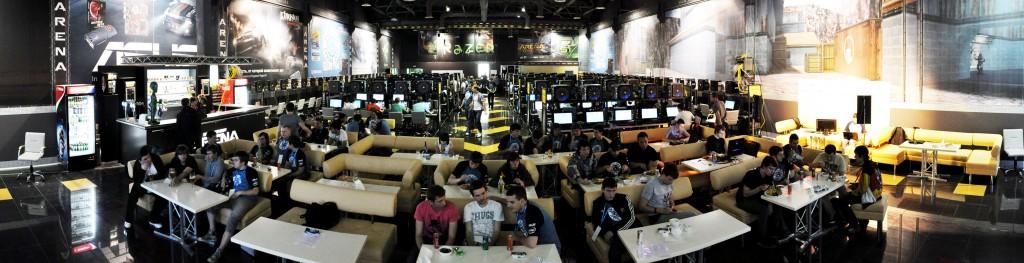 Компьютерный клуб кибер спорт арена